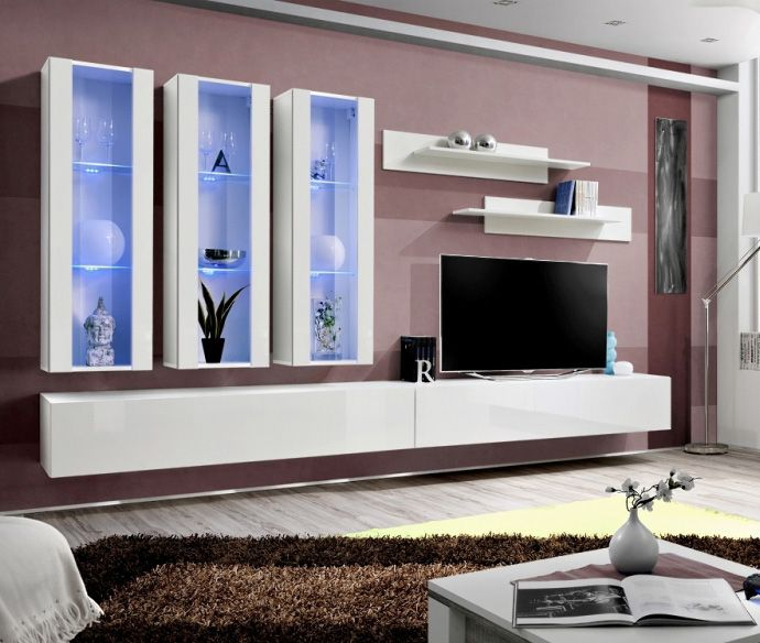 Modern Wall Units | Wall Units | Living Room Wall Units | Contemporary Wall  Units | Wall Units For Tv | Tv Cabinets | Oak Wall Unit | Pinterest |  Modern ...