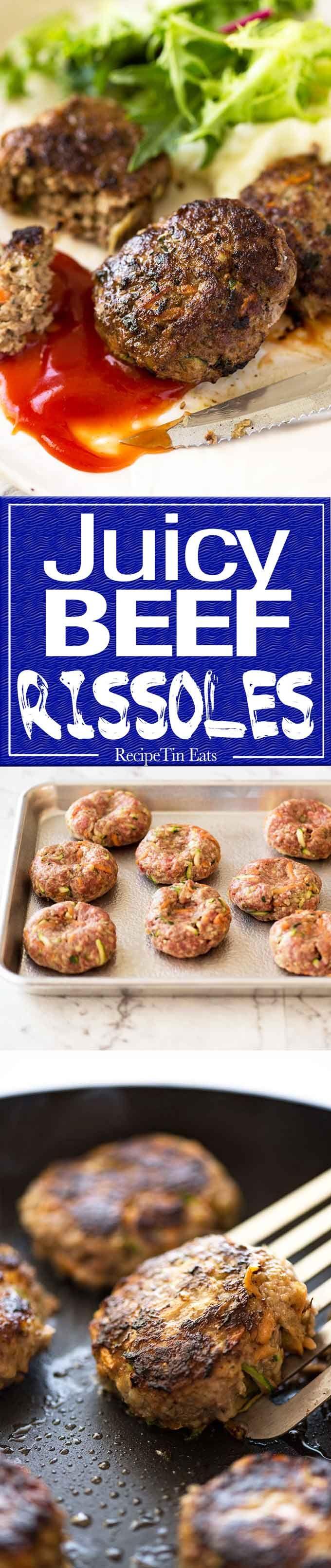 Rissoles #beefdishes
