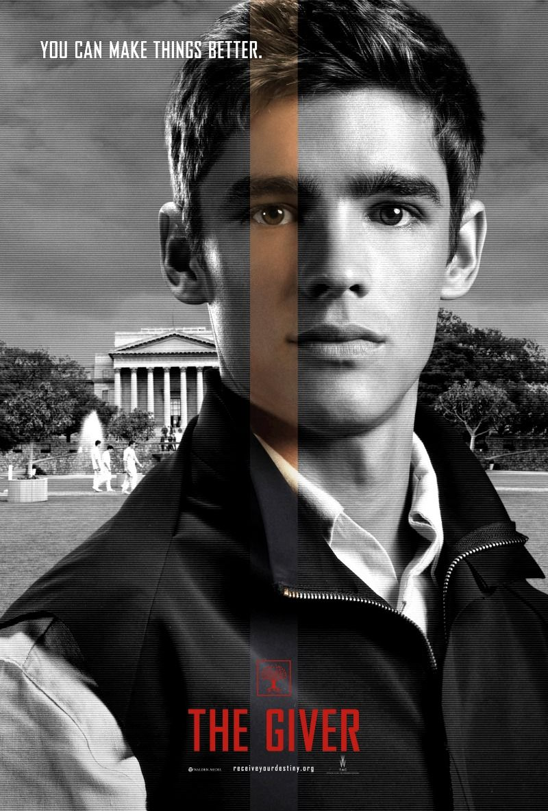 'The Giver' Poster Premiere The giver, Brenton thwaites