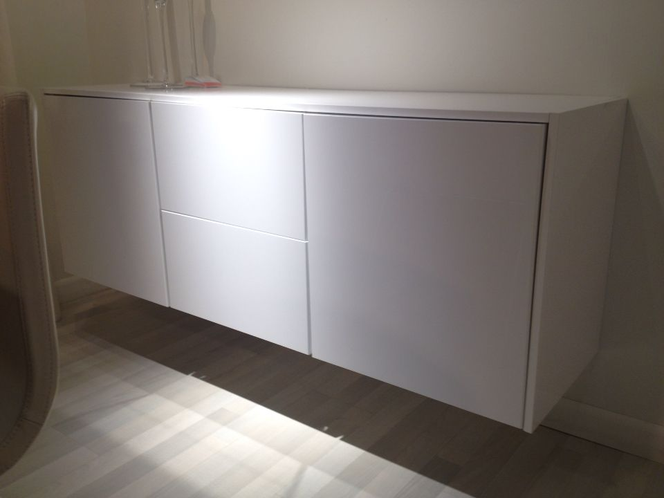 Ikea Sektion Credenza : Sektion cabinet series ikea mount cabinets low on wall to