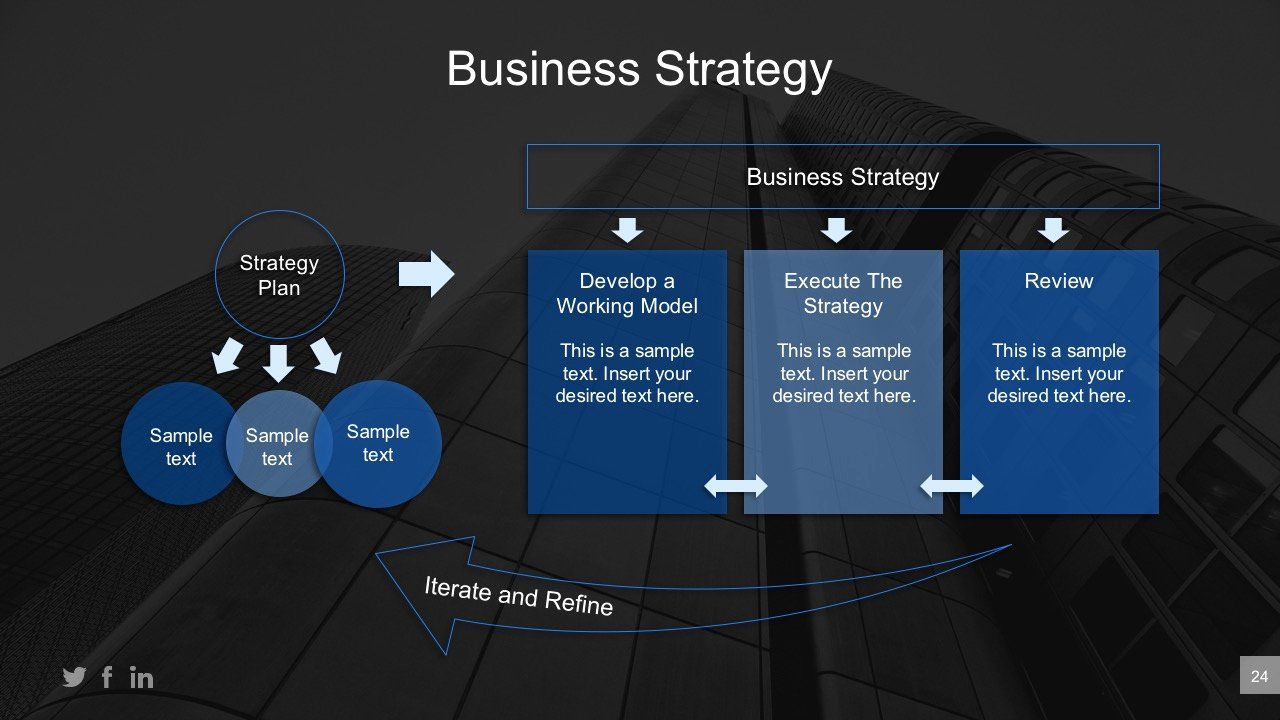 Business Plan Powerpoint Template Awesome Executive Strategic