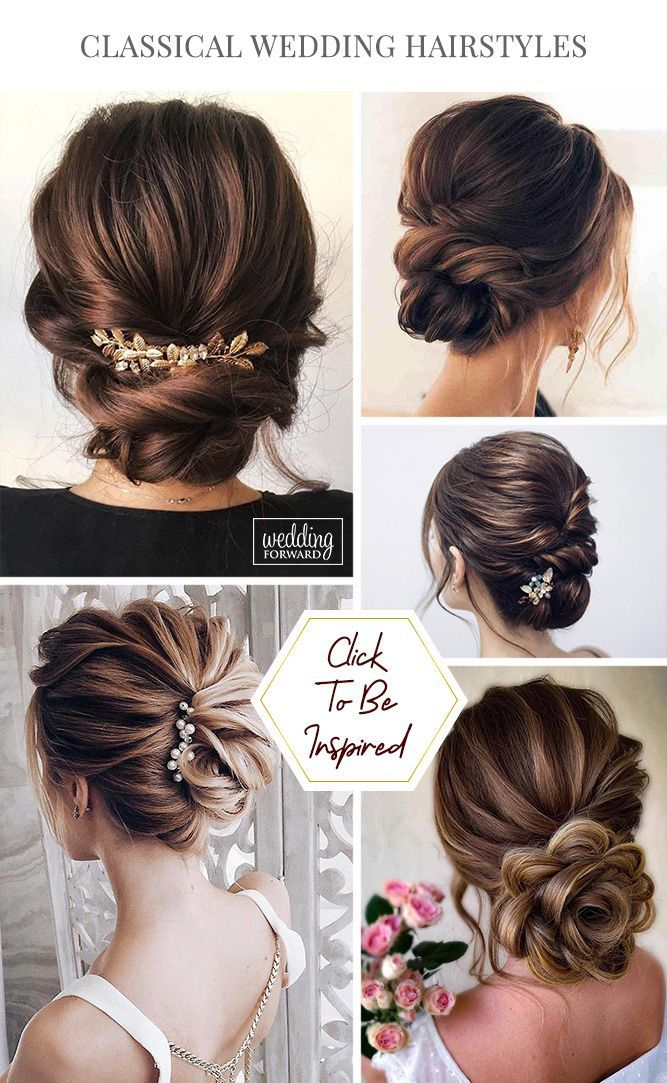 Classic Wedding Hairstyles 30 Timeless Ideas Wedding Forward Wedding Hairstyles Bridal Hair Hair Accessories