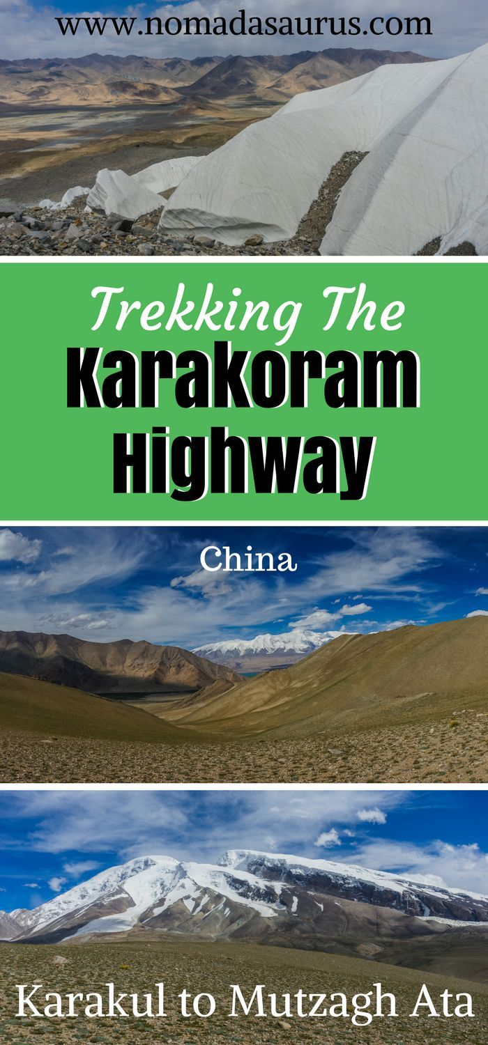 We hiked around this area for 3 days and explored the Glacier. Definitely a place not to miss of your list of places to visit in China if you are up for an adventure. Hiking along the Karakoram Highway was a highlight for us. Go hiking in China.   Things