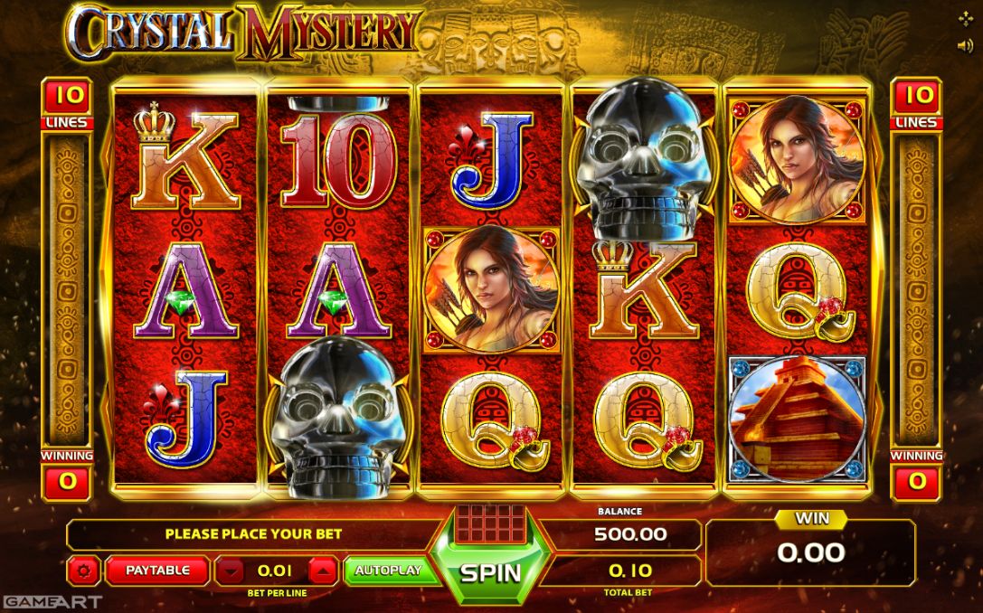 Spiele Crystal Mystery - Video Slots Online