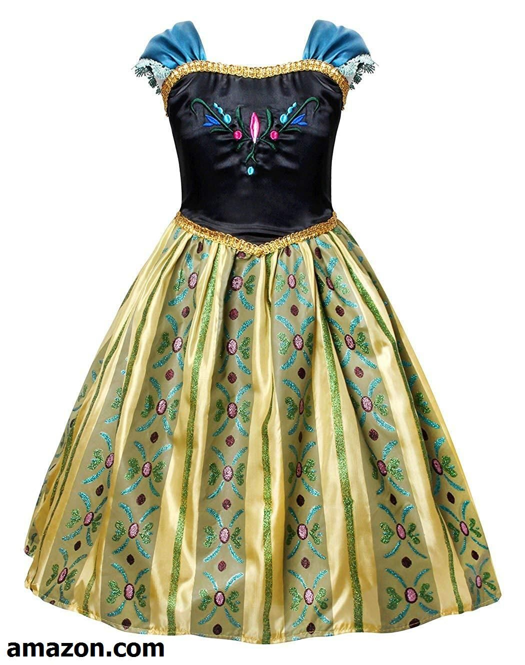 d30cb2b80dbf Cotrio Anna Coronation Dress Halloween Costumes Princess Dress up ...