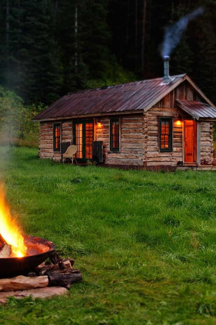 Secluded Cabin Rental Near Mcphee Reservoir Colorado Secluded Cabin Secluded Cabin Rentals Cabins In The Woods