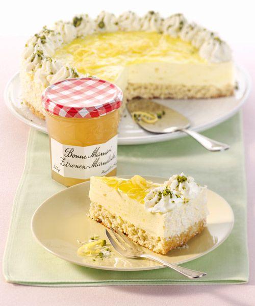 Bonne Maman Zitronen Kokos Torte Vive Le Gouter Pinterest