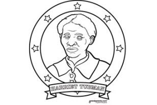 Coloring Page For Harriet Tubman Super Coloring Pages Coloring