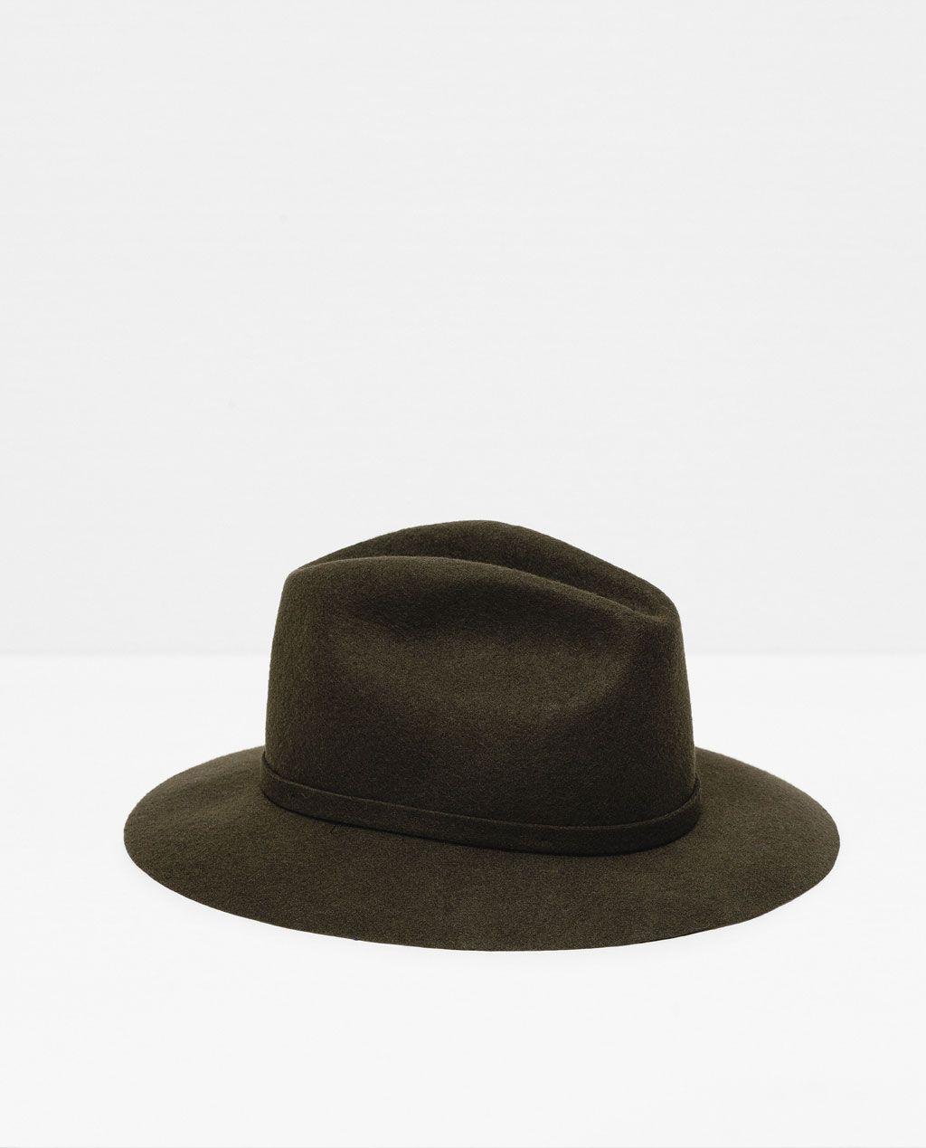 a2adb4e446 Image 1 of FELT HAT from Zara | Wishlist | Felt hat, Hats, Zara