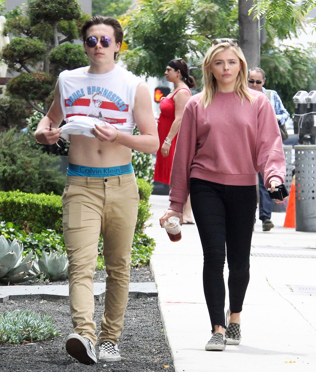 c9a04fb4613 CHLOE MORETZ and Brooklyn Beckham Out and About in West Hollywood 05 19 2016