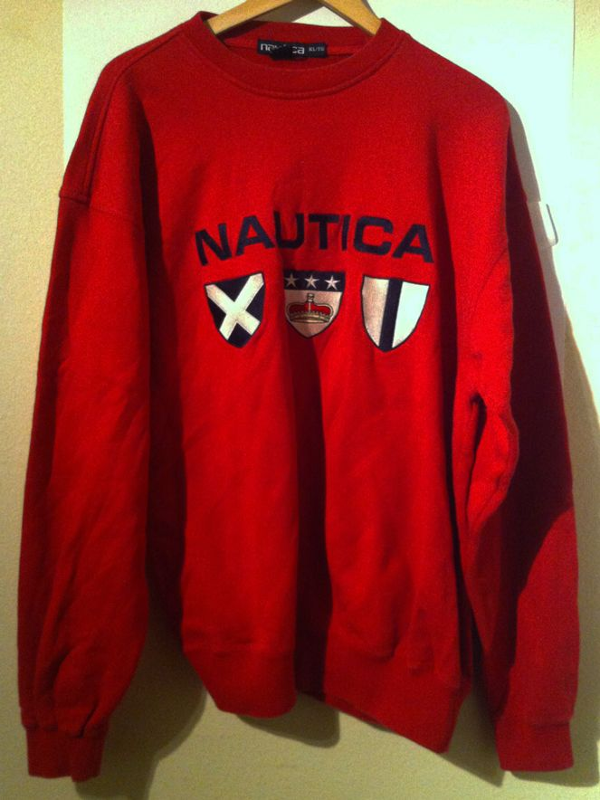 Vintage Nautica Google Search Blazer And T Shirt Vintage Sweatshirt Casual Winter Outfits