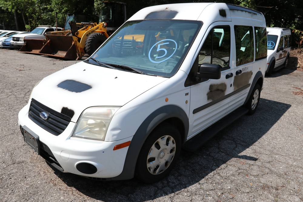 Item 5 2012 Ford Transit Connect Vin Serial