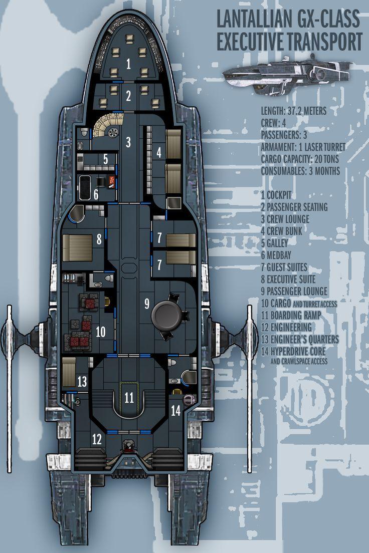 Superb Star Wars Ship Floor Plans Part - 5: Starship Deckplan - Google Search. Star Wars ...