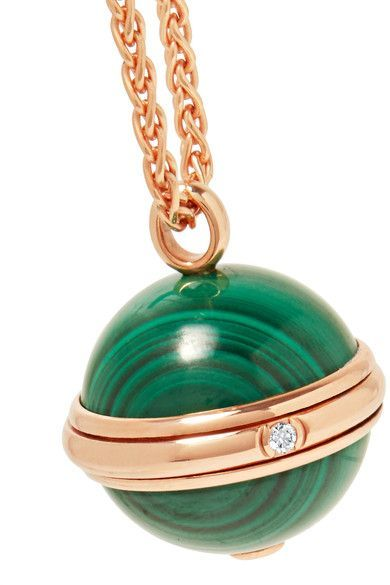 Possession 18-karat Rose Gold, Turquoise And Diamond Necklace - one size Piaget