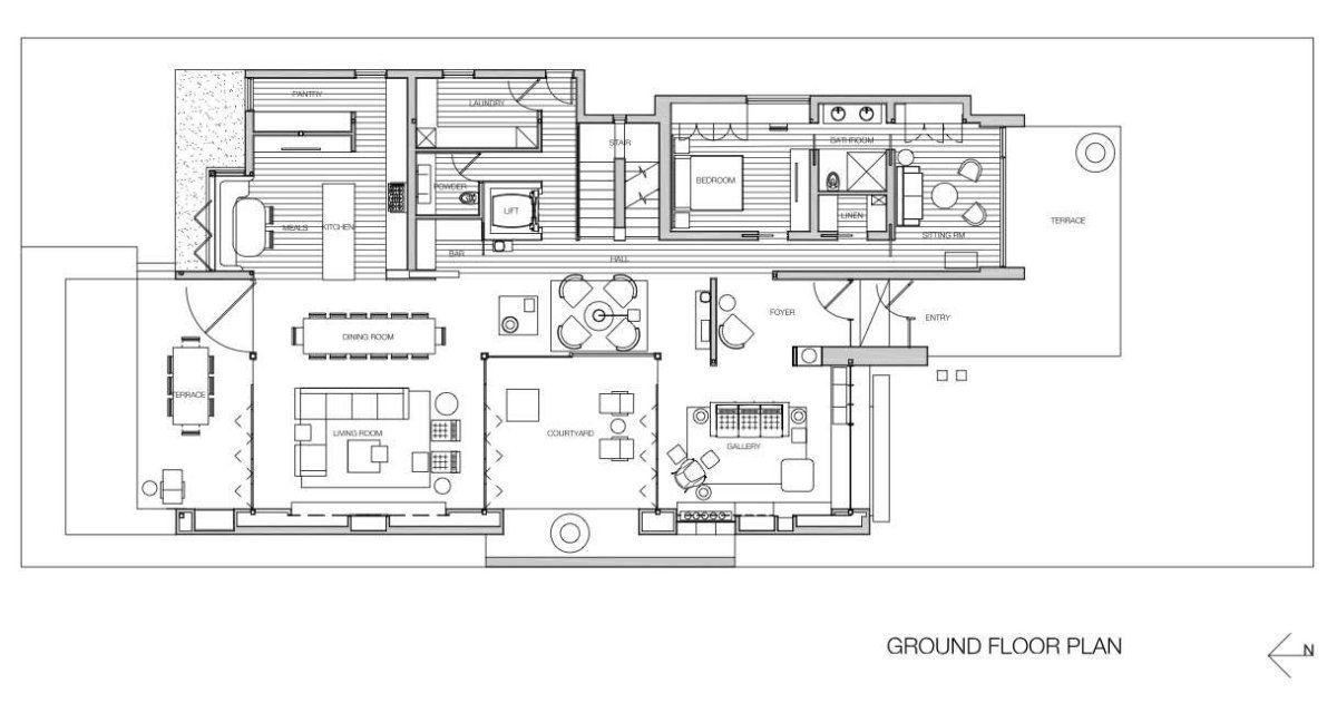 Captivating Architecture · Contemporist.com Glenbervie House By Darren Carnell ...