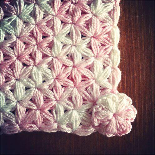 Uncinetto Punto Stella.Punto Stella Uncinetto かぎ針編みのパターン ルームニッティング かぎ針編みのフック