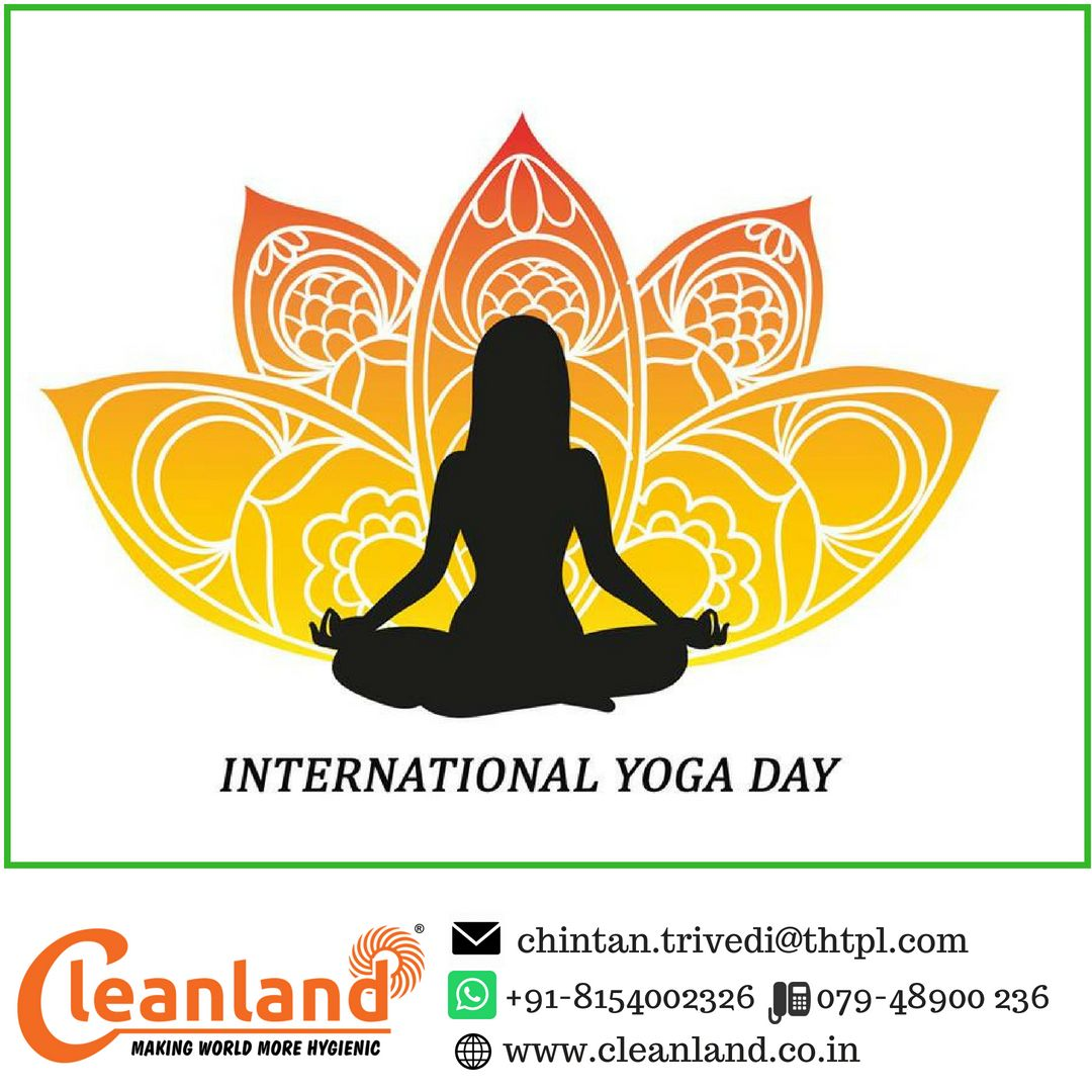 Wishing a happy international yoga day to all of you from cleanland