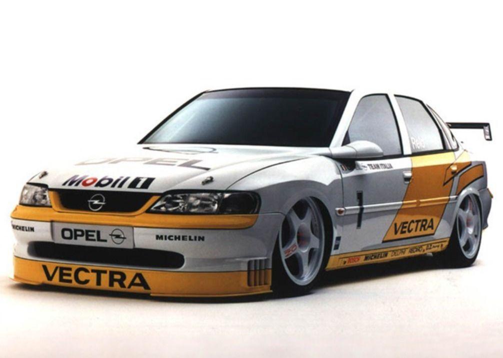 Opel Vectra B Touring Car Btcc Racer Presentation Car