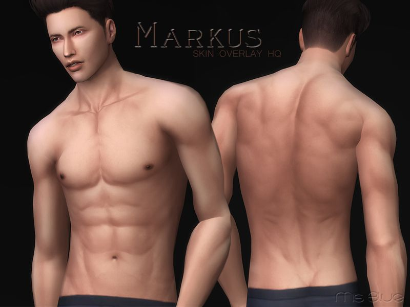 Sims 4 CCs - The Best: Male Realistic Skin by