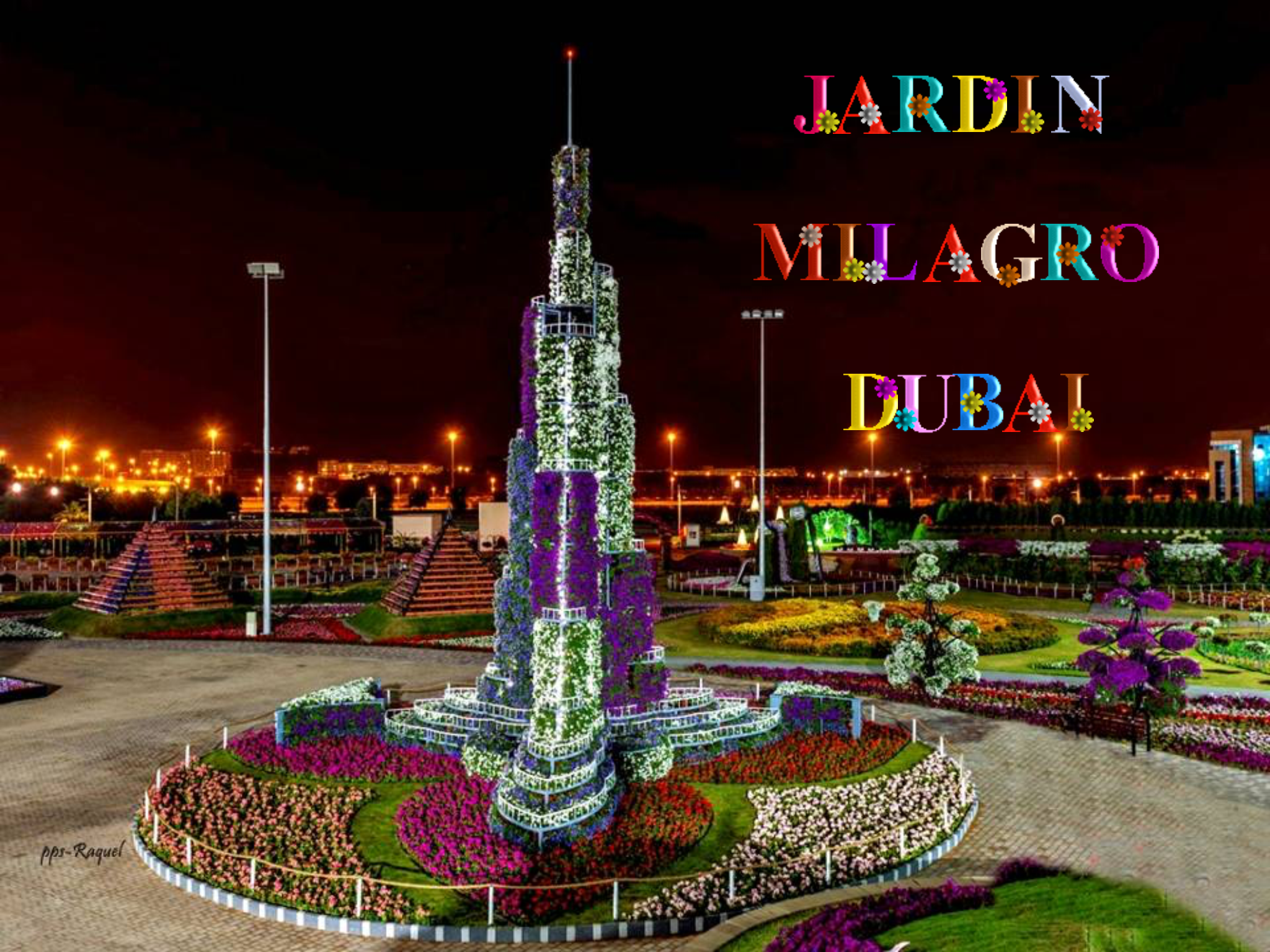 Miracle garden by Booguy on Dubaï Dubai garden