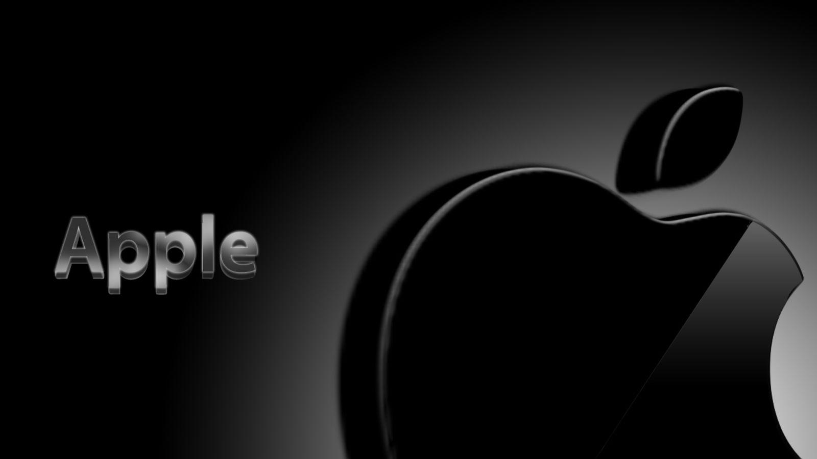Black Apple Logo Wallpapers Apple Logo Apple Logo Wallpaper Cool Apple Logo