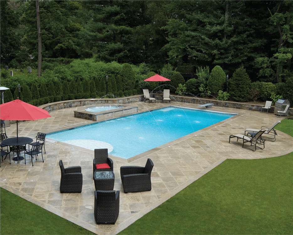 Beautiful Backyards With Pools 36 Decoratoo Swimming Pools Inground Pools Backyard Inground Inground Pool Landscaping