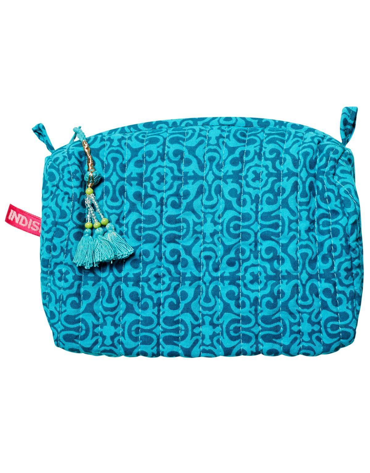 VANITY liten necessär turkos | Zence textiles | Kökstextil | Home | INDISKA Shop Online