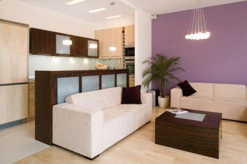 Sofas an Küchenwand    fotohausideenblogspotde 2012 09 - kleine kuche im wohnzimmer