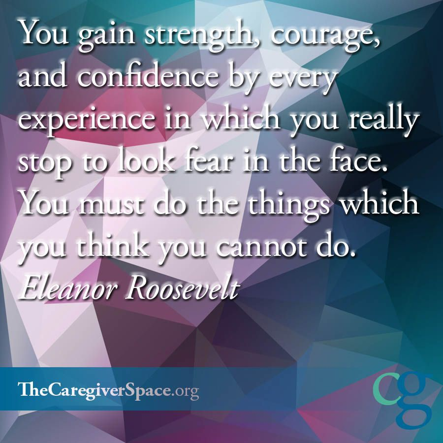 Quotes About Strength And Courage Strength #courage #confidence #experience #fear #roosevelt .