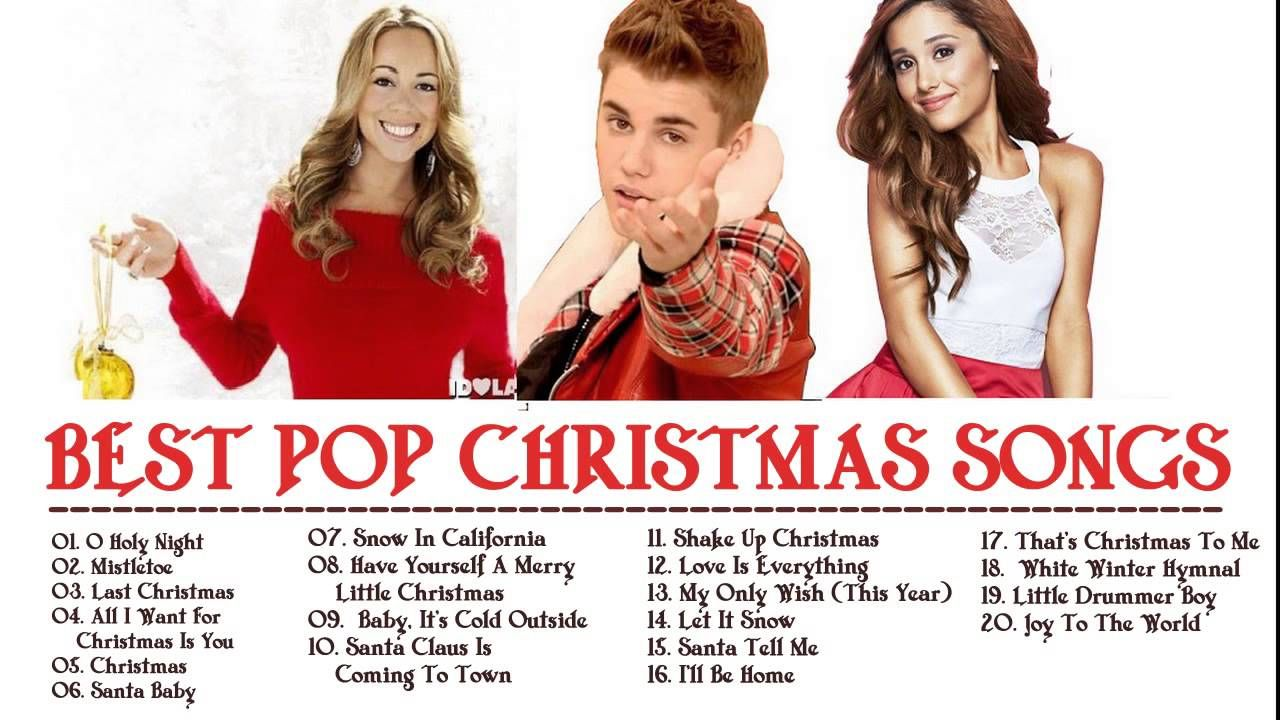 best pop christmas songs ever 2016 2017 - Pop Christmas Music