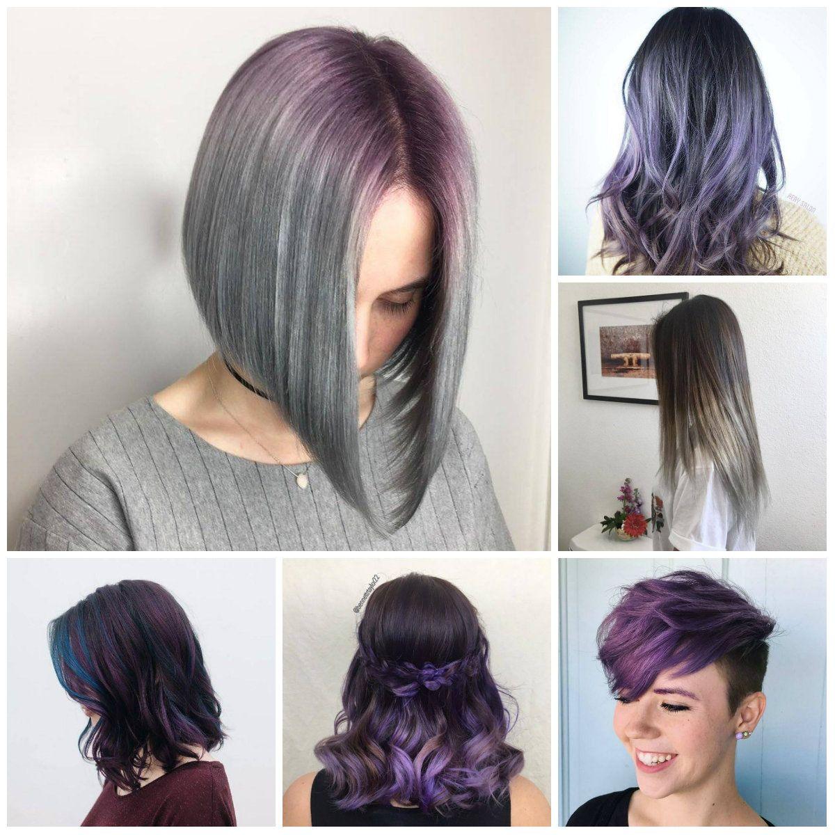 Purple Hair Colors For Short Hair In 2018 Hair Ideas In 2018