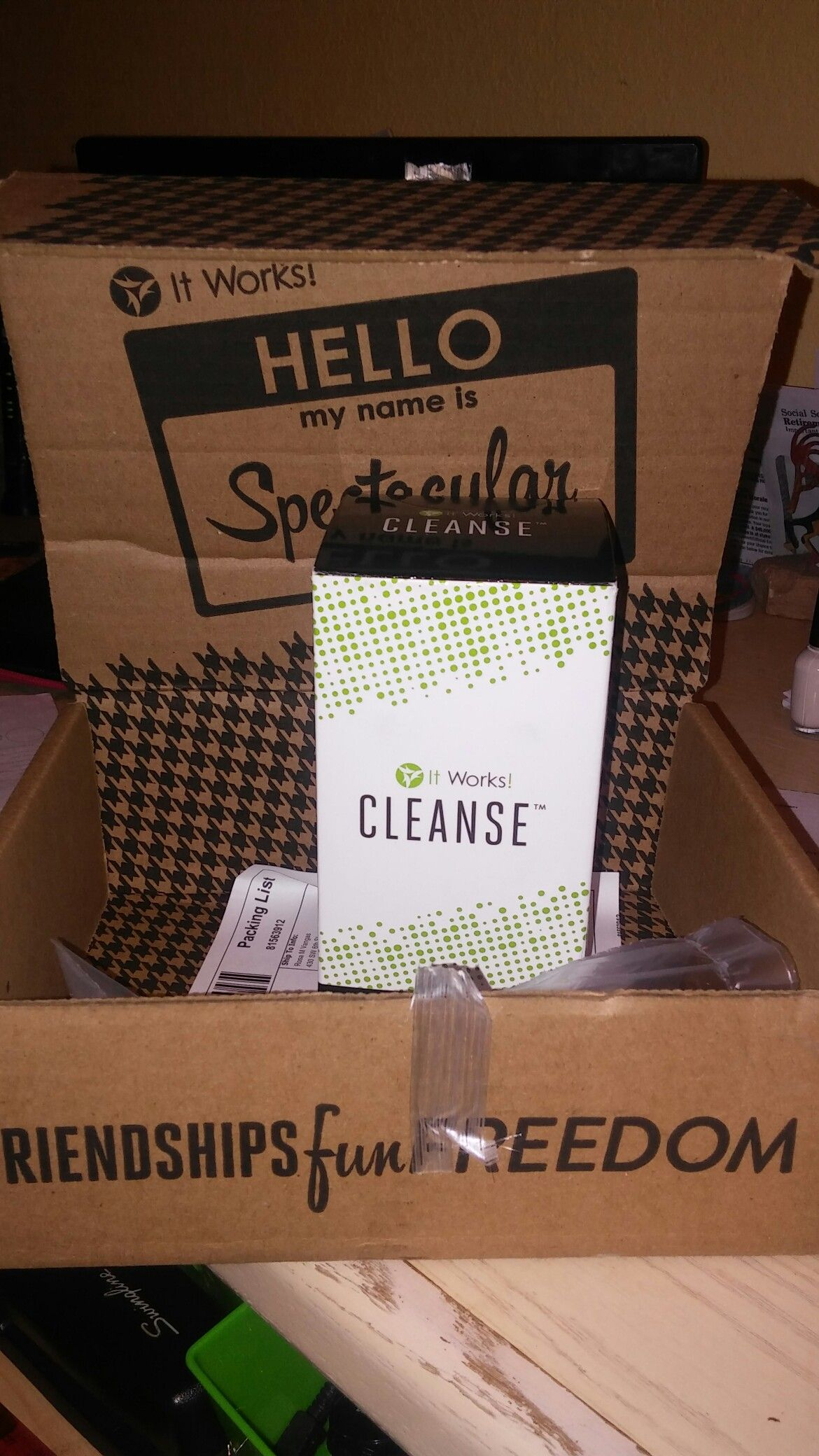 My It works products that came in yay!