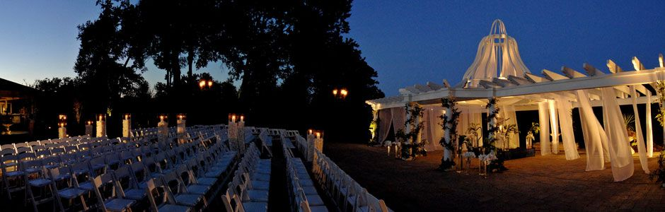 Elegant Outdoor Wedding Reception Venue | Monmouth County, NJ | Eagle Oaks Golf and Country Club