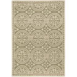Photo of benuta Naturals wool carpet Windsor light green 200×300 cm – natural fiber carpet made of wool benuta