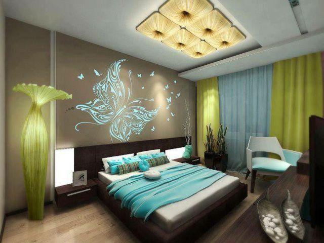 15 décorations couleurs pour une chambre à coucher unique ...