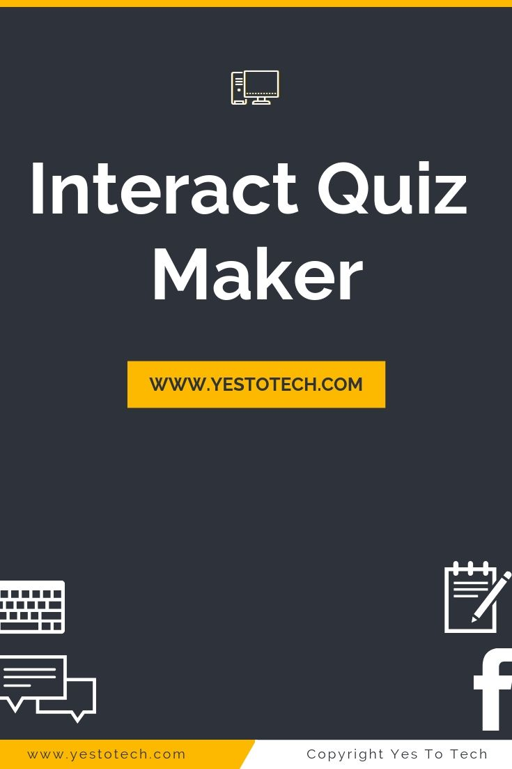 Discover how to make your own quiz, poll and giveaway with