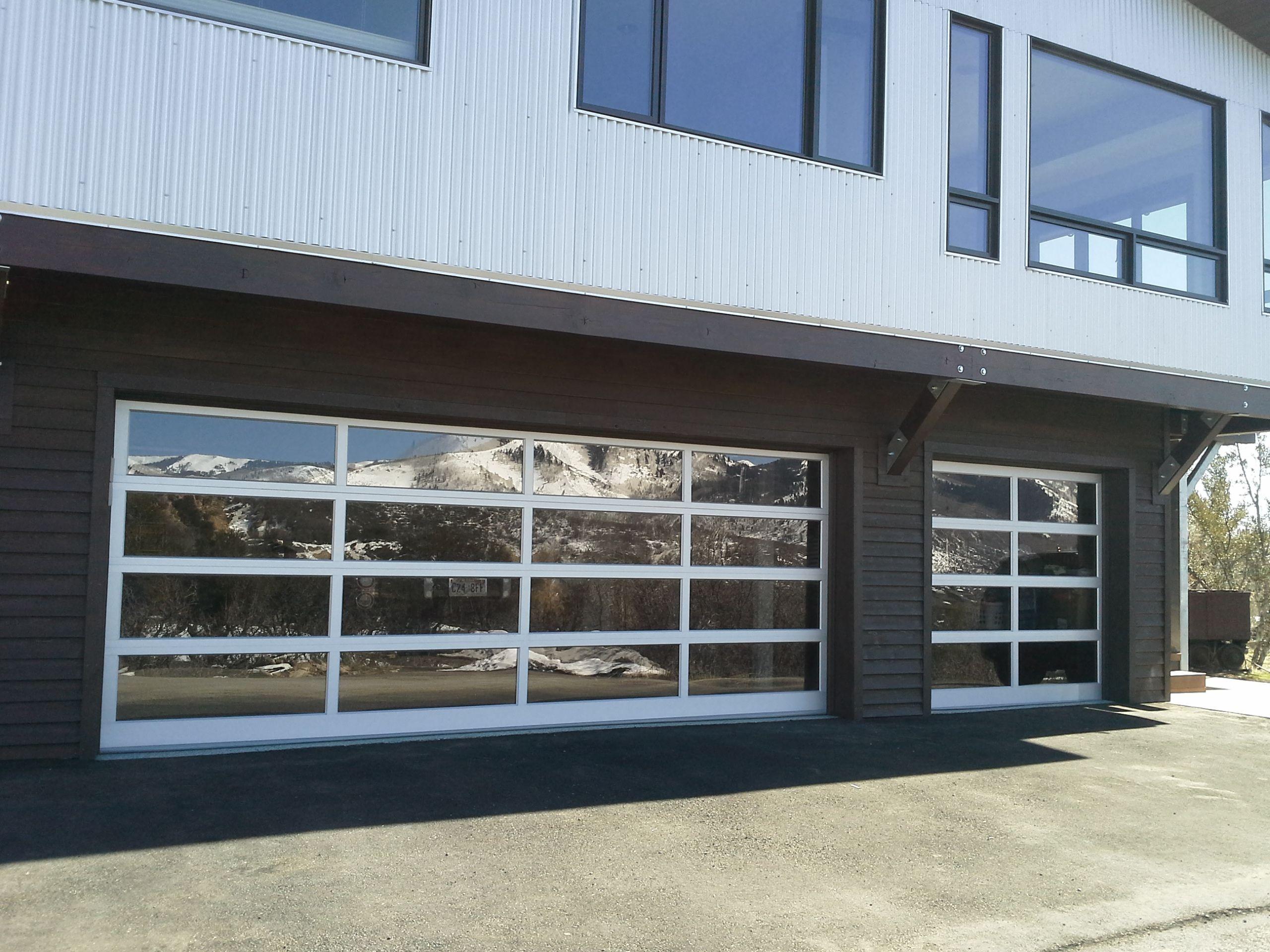We Work In A Wide Variety Of Garage Door Types This Glass Door Fits