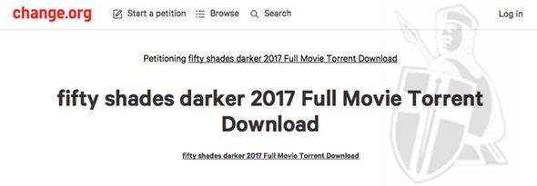 torrent of 50 shades of grey