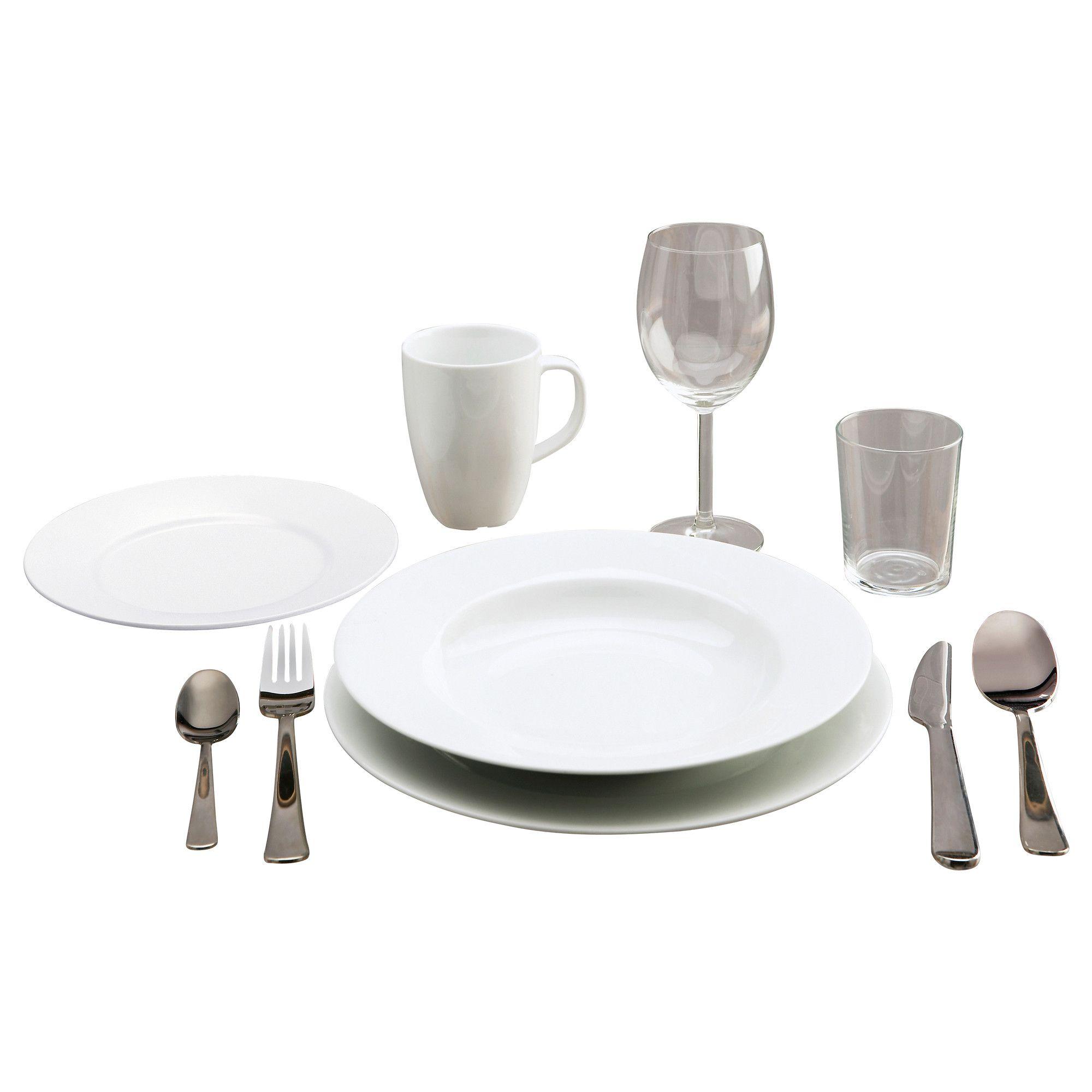 Kitchen Starter Set Ikea: STARTBOX PLUS Serviço Porcelana, 60 Peças - IKEA
