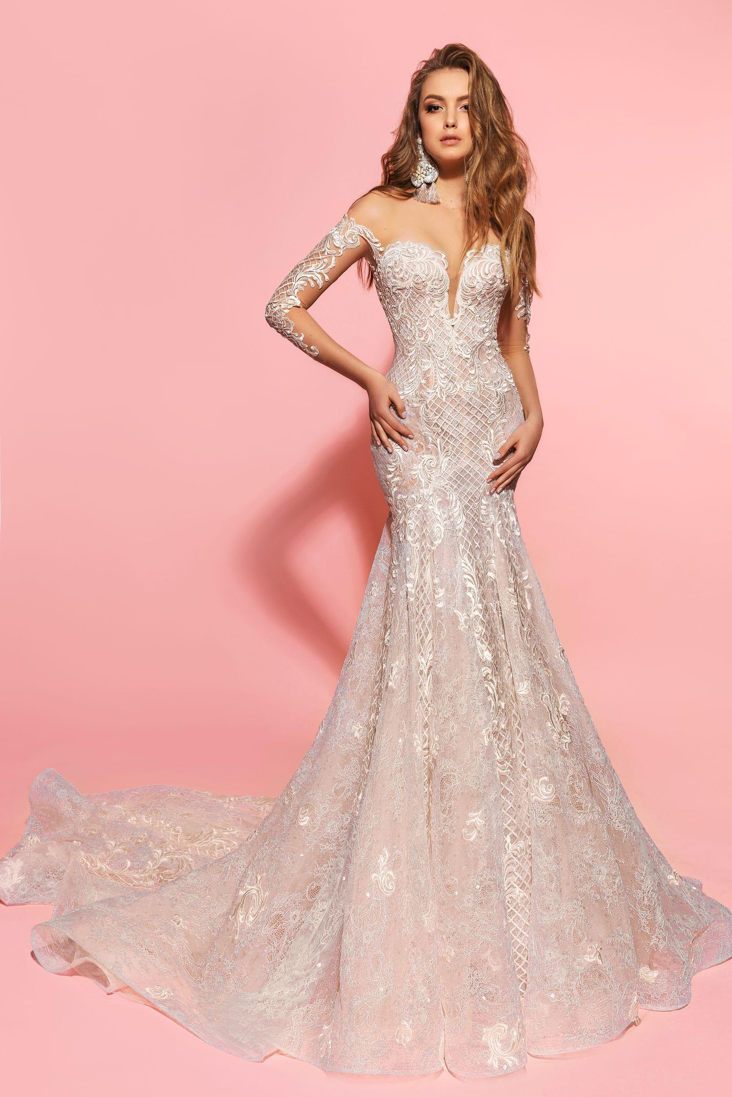 Kim wedding dress. Eva Lendel Pink Collection | Eva Lendel ...