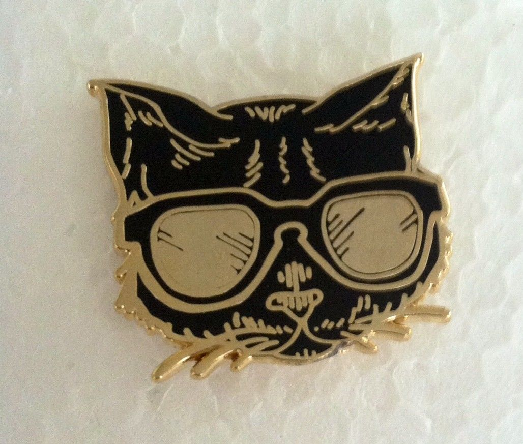 Details About KITTY CAT KITTEN Hat Pin Lapel Pin