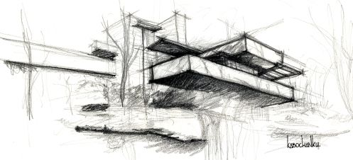 Image Result For Frank Lloyd Wright Sketches