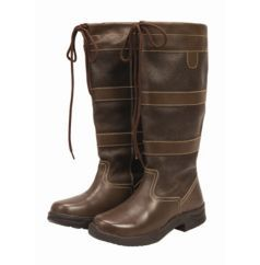 Saxon Ladies Country Boot Country Boots Leather Country Boots Boots