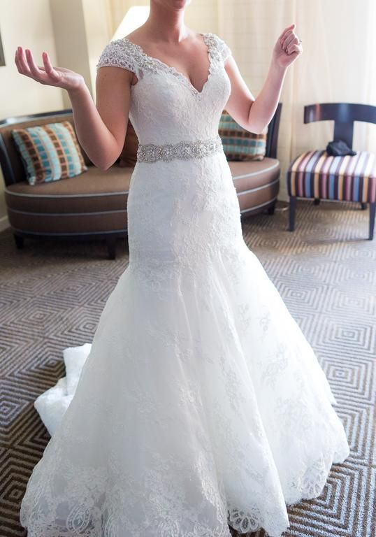 Allure Bridals 9010 6 find it for sale on PreOwnedWeddingDresses.com ...