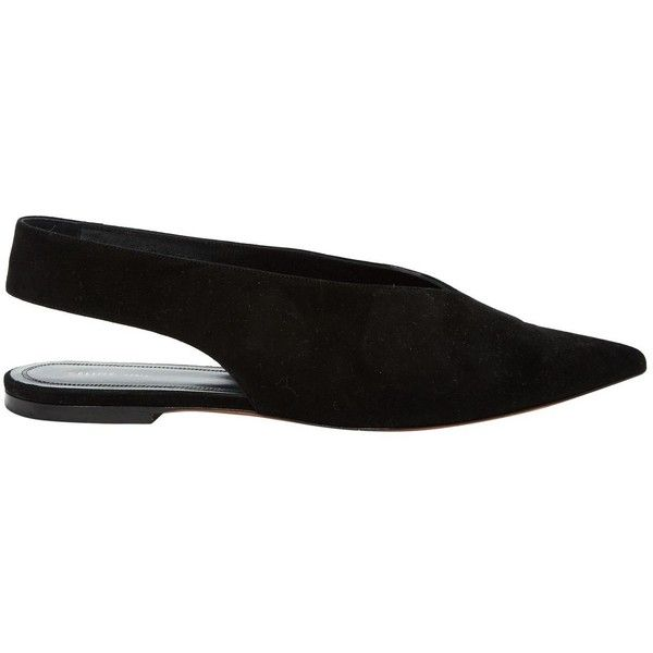 Pre-owned - Black Leather Flats Celine