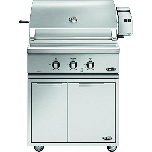 DCS Traditional 30Inch Propane Gas Grill On CAD Cart with Rotisserie -- Learn more by visiting the image link.(This is an Amazon affiliate link and I receive a commission for the sales)