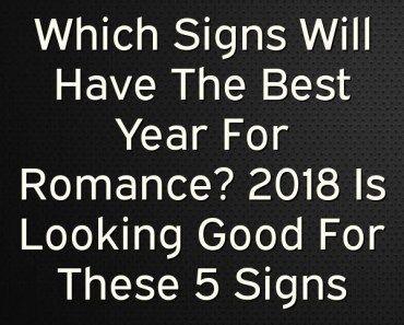 Best romantic options based on zodiac sign
