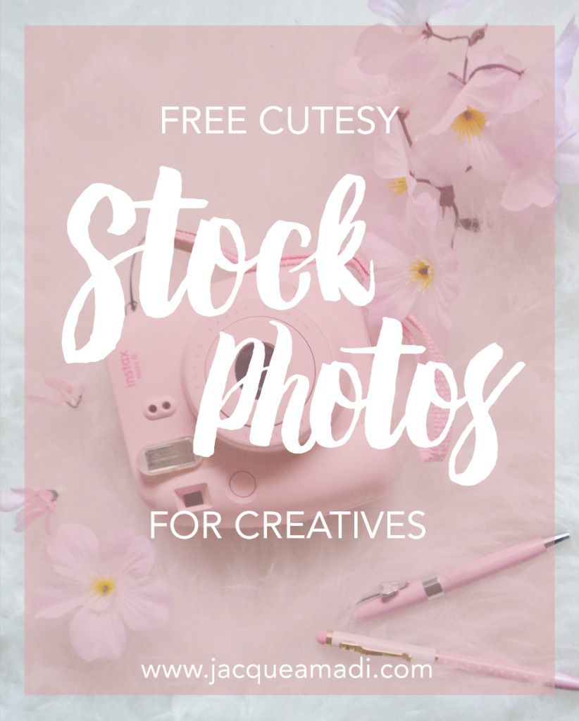 Free Cute Stock Photos for Bloggers