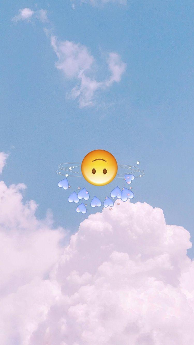Pin By Kimmy Vlogs On Wallaper Emoji Wallpaper Wallpaper Iphone Cute Cute Emoji Wallpaper