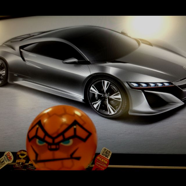 The Thing Is A Fan Of The New Acura NSX